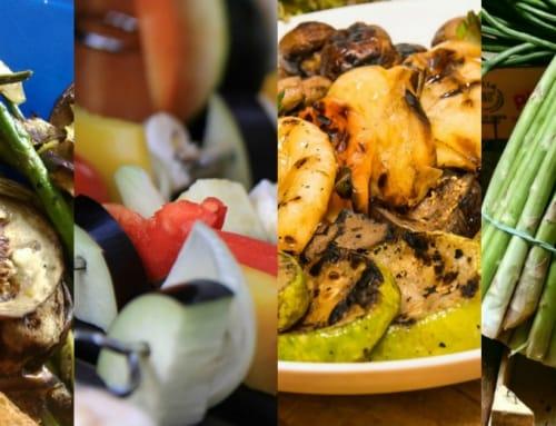 Como preparar una barbacoa vegetariana consejos para for Parrillada verduras