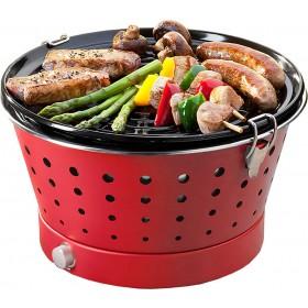 Barbacoa de carbón Grillerette Roja