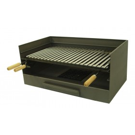 Barbacoa de carbón 71515 con Cajón y Parrilla Inox de Imex el Zorro