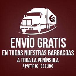 envio barbacoa gratis toda peninsula mibarbcoa