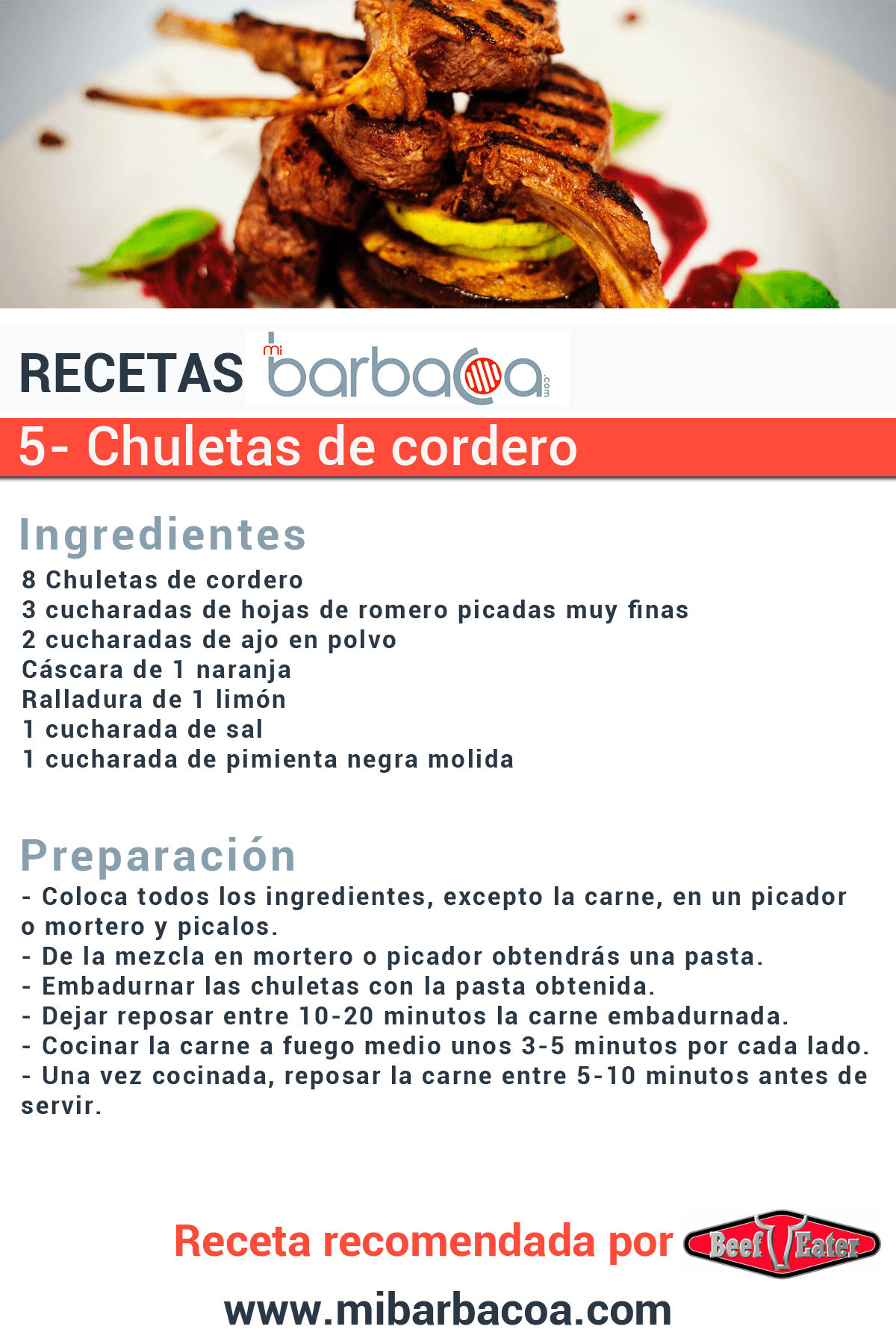 Recetas para barbacoa recomendadas for Comidas faciles de cocinar