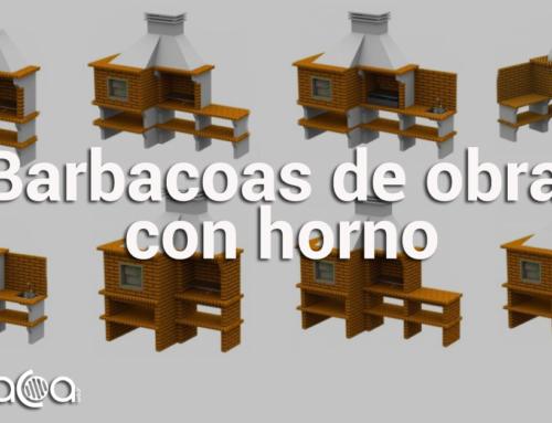 Barbacoas de obra con horno