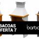Collage con algunos de los modelos de barbacoas con precios rebajados