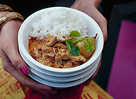 Receta carne barbacoa al curry